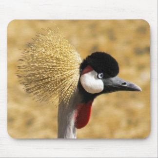 East African Crowned Crane Mouse Pad