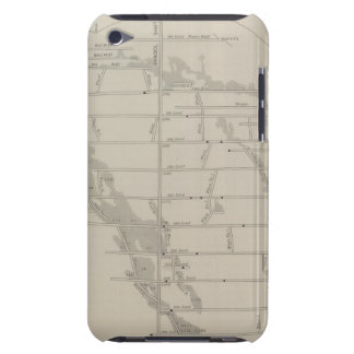 East and West Vertical Section, New Almaden Mine iPod Case-Mate Cases