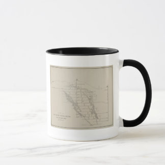 East and West Vertical Section, New Almaden Mine Mug