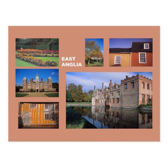 East Anglia multi-image Postcard