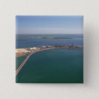 East Arm Port, Darwin Harbour 15 Cm Square Badge