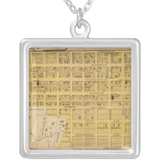 East Ashland, Kentucky Silver Plated Necklace