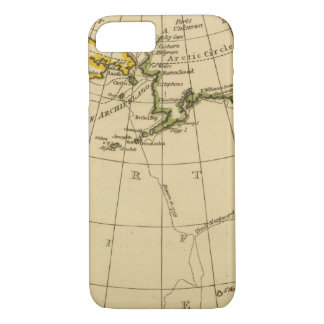 East Asia, West North America iPhone 8/7 Case