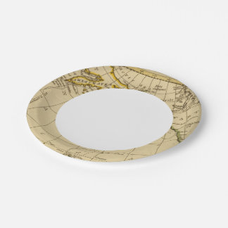 East Asia, West North America Paper Plate