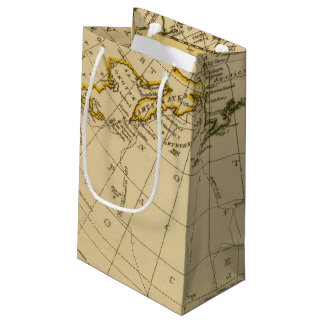 East Asia, West North America Small Gift Bag