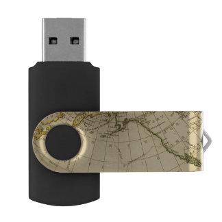 East Asia, West North America USB Flash Drive