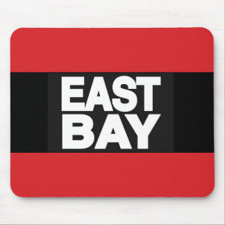 East Bay 2 Red Mouse Pad