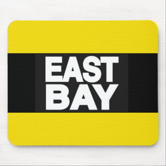 East Bay 2 Yellow Mouse Pad