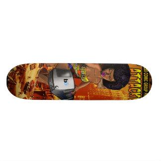 East Bay Express Comic Contest Skateboard