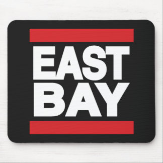 East Bay Red Mouse Pad