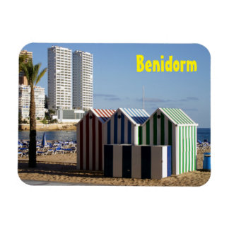 East beach Benidorm, houses of bath Magnet