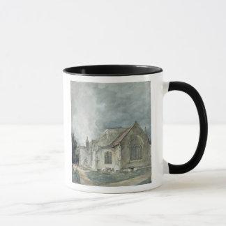East Bergholt Church, c.1805-11 Mug