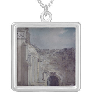 East Bergholt Church Silver Plated Necklace
