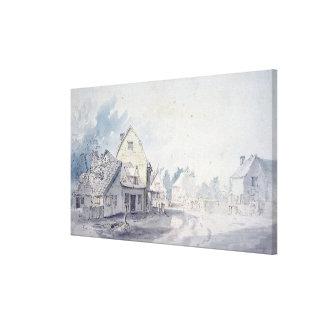 East Bergholt Street, East Bergholt Canvas Print