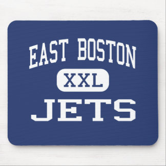East Boston - Jets - High - East Boston Mouse Mat