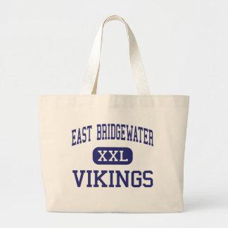 East Bridgewater - Vikings - East Bridgewater Jumbo Tote Bag