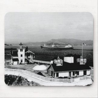 East Brother Island Lighthouse Mouse Pad
