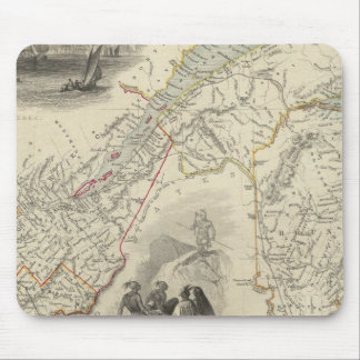 East Canada And New Brunswick Mouse Mat