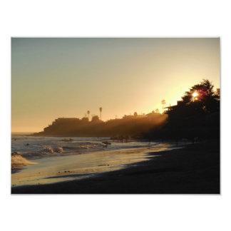 East Cliff Drive Beach Photo Print