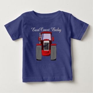 East Coast Baby farm tractor Baby T-Shirt
