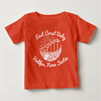 East Coast Baby Halifax Nova Scotia Canada Baby T-Shirt