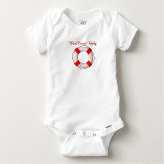 East Coast Baby Life preserver cute one piece Tee Shirts