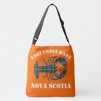 East Coast Baby Lobster tartan   Bag orange