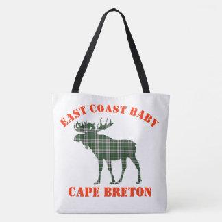 East Coast Baby moose Cape Breton tartan Bag