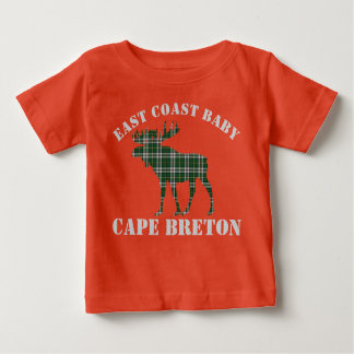 East Coast Baby moose  Cape Breton tartan shirt