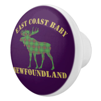 East Coast Baby moose Newfoundland  drawer pull