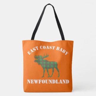 East Coast Baby moose Newfoundland tartan Bag