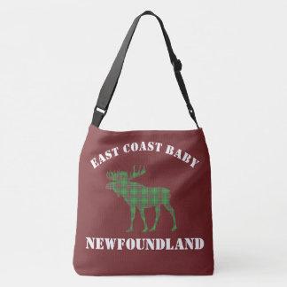 East Coast Baby moose Newfoundland tartan Bag red