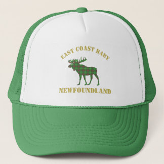 East Coast Baby moose Newfoundland tartan hat
