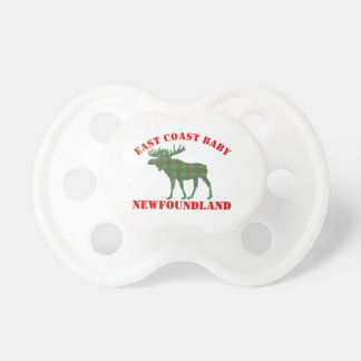 East Coast Baby moose Newfoundland tartan  soother