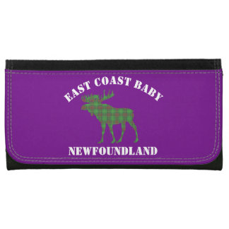 East Coast Baby Newfoundland moose tartan wallet