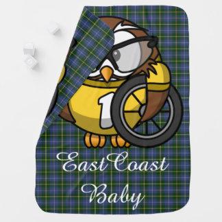 East Coast baby owl bike  Nova Scotia Tartan Buggy Blankets