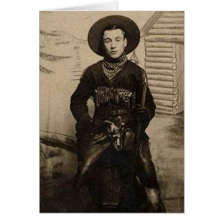 East Coast Cowboy Card