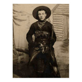 East Coast Cowboy Postcard