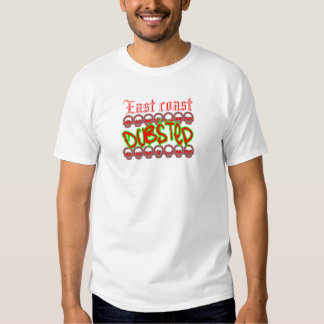East coast Dubstep Tee Shirts