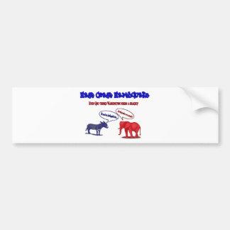 East Coast Earthquake: Washington Shakeup Bumper Bumper Sticker