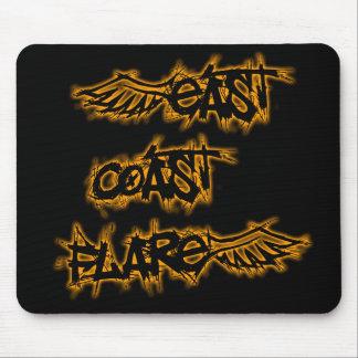 East Coast Flare Mousepad