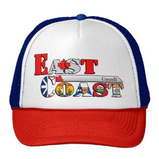East Coast Letter Flags Cap/Hat [Canadian Edition] Cap