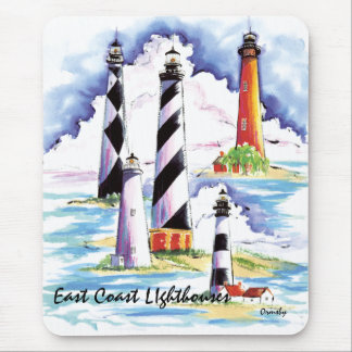East Coast Lighthouses mousepad