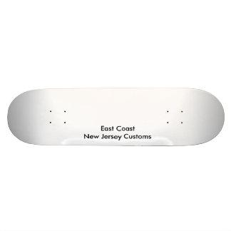 East Coast New Jersey Customs 19.7 Cm Skateboard Deck
