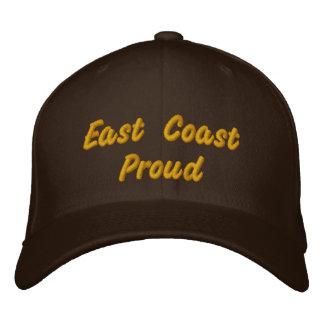 East Coast Proud Dark Brown Hat Embroidered Baseball Caps