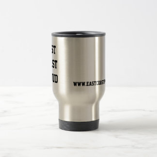 East Coast Proud Travel Mug