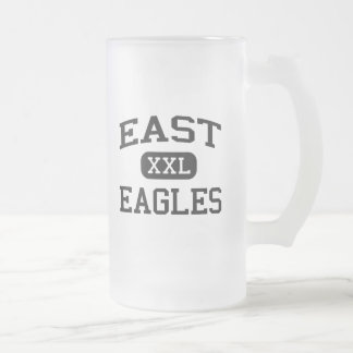 East - Eagles - Junior - Wisconsin Rapids Frosted Glass Mug