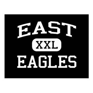 East - Eagles - Junior - Wisconsin Rapids Postcard