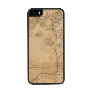 EaSt. End of Lake Ontario Carved® Maple iPhone 5 Slim Case