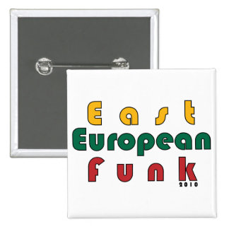 East European Funk 15 Cm Square Badge